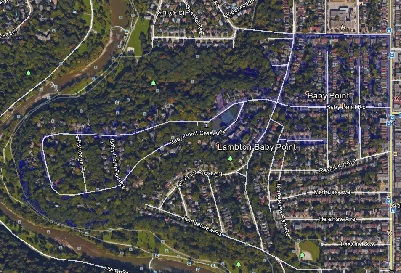 Baby Point Toronto Houses Homes Detached Map