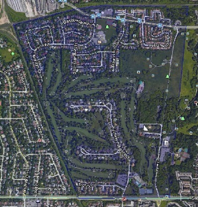 Bayview Fairways Thornhill Markham Houses Homes Detached Link Semi-Detached Map