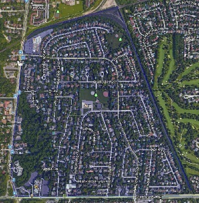 Bayview Glen Thornhill Markham Houses Homes Detached 2-Storey Bungalow Map