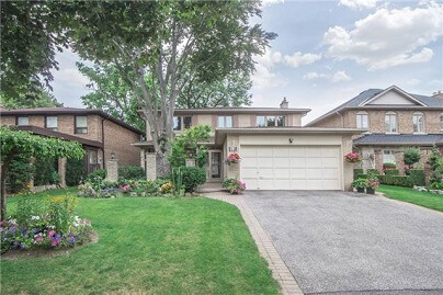 Bayview Woods North York Toronto Houses Homes Detached Semi-Detached