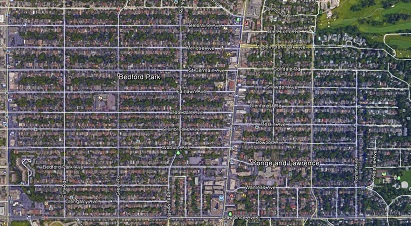 Bedford Park Uptown Toronto Houses Homes Detached Semi-Detached Map
