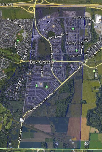 Boxgrove Markham Houses Homes Detached Semi-Detached Link Town Map