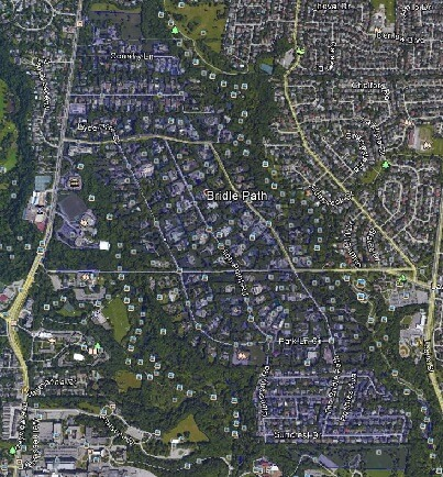 Bridle Path Uptown Toronto Houses Homes Detached Town Map
