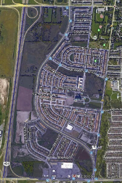 Cathedraltown Markham Houses Homes Detached  Semi-Detached Link Town Map