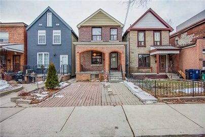 Christie Pitts Midtown Toronto Houses Homes Detached Semi-Detached Town