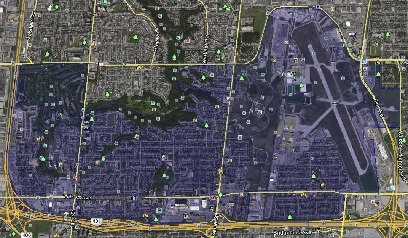 Downsview-Roding North York Toronto Houses Homes Detached Semi-Detached Town Map