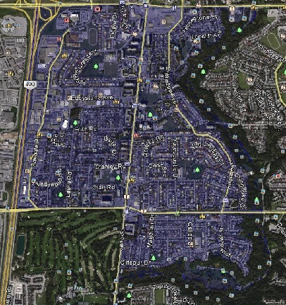 Glenfield-Jane Heights North York Toronto Houses Homes Detached Semi-Detached Map