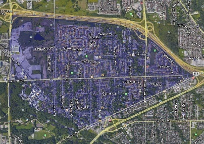 Highland Creek Toronto Houses Homes Detached Town Map