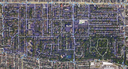 Hillcrest Village Midtown Toronto Houses Homes Detached Semi-Detached Town Map