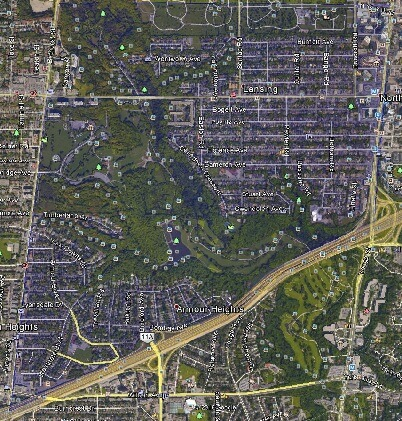Lansing Westgate North York Toronto Houses Homes Detached Semi-Detached Map