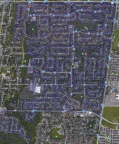Markham Village Markham Houses Homes Detached Link Semi-Detached Map