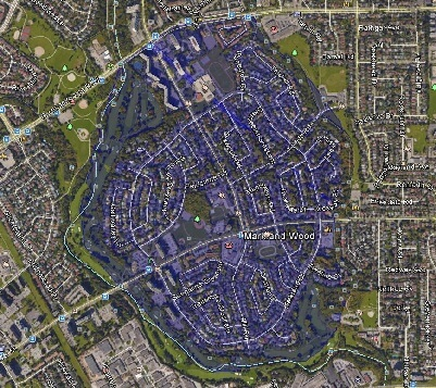Markland Wood Toronto Houses Homes Detached Map