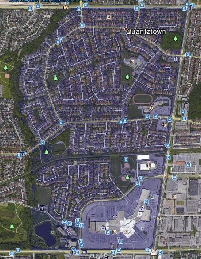 Markville Markham Houses Homes Detached Link Map