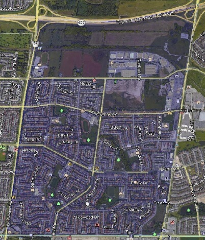 Middlefield Markham Houses Homes Detached Link Semi-Detached Town Map