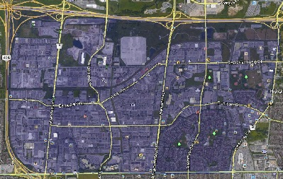 Milliken Mills West Markham Houses Homes Detached Link Semi-Detached Map