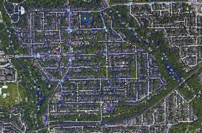 Moore Park Midtown Toronto Houses Homes Detached Semi-Detached Map