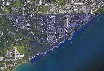 Port Union Toronto Houses Homes Detached Semi-Detached Town Map