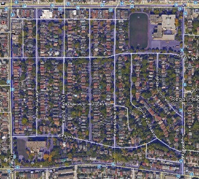 Regal Heights Midtown Toronto Houses Homes Detached Semi-Detached Map