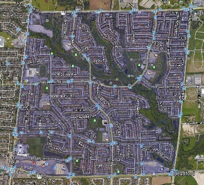 Rouge Woods Richmond Hill Homes Houses Detached Semi Towns Map