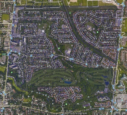 Royal Orchard Thornhill Markham Houses Homes Detached Semi-Detached Map