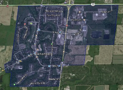 Schomberg King Houses Homes Detached Semi-Detached Town Map