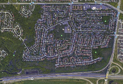Sherwood Amberglen Markham Houses Homes Detached Link Map