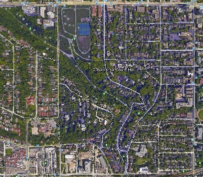 South Hill Midtown Toronto Houses Homes Detached Semi-Detached Town Map