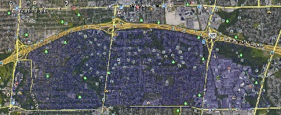 St Andrews Windfields Uptown Toronto Houses Homes Detached Semi-Detached Map