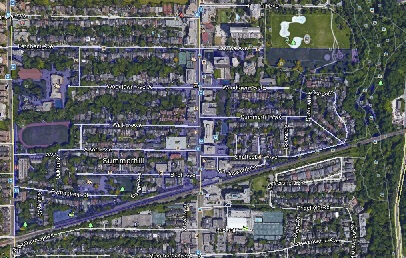 Summerhill Midtown Toronto Houses Homes Detached Semi-Detached Town Map