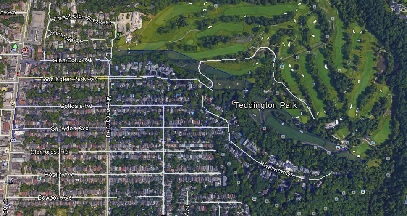 Teddington Park Uptown Toronto Houses Homes Detached 2-Storey Map