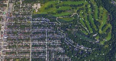 Teddington Park Uptown Toronto Houses Homes Detached 2 Storey Map