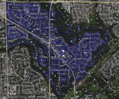 Thistletown Toronto Houses Homes Detached Semi-Detached Map