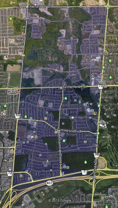 Thornhill Woods Real Estate Thornhill Vaughan Homes Houses Detached Semi Towns Walk Score Walkscore