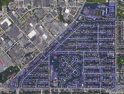 Topham Park Toronto Houses Homes Detached Map