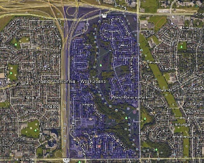 West Deane Park Toronto Houses Homes Detached Town Map