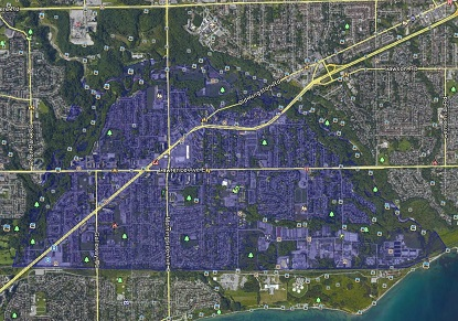 West Hill Toronto Houses Homes Detached Semi-Detached Town Map