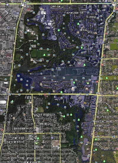 Westminster-Branson North York Toronto Houses Homes Detached Semi-Detached Link Town Map