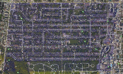 Willowdale West North York Toronto Houses Homes Detached Semi-Detached Town Map