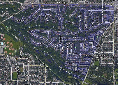 Woodbine Gardens Toronto Houses Homes Detached Semi-Detached Town Map