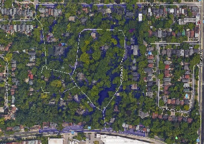 Wychwood Park Midtown Toronto Houses Homes Detached Map